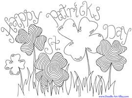 free folk art coloring pages - 81 best images about oodles of doodles on pinterest