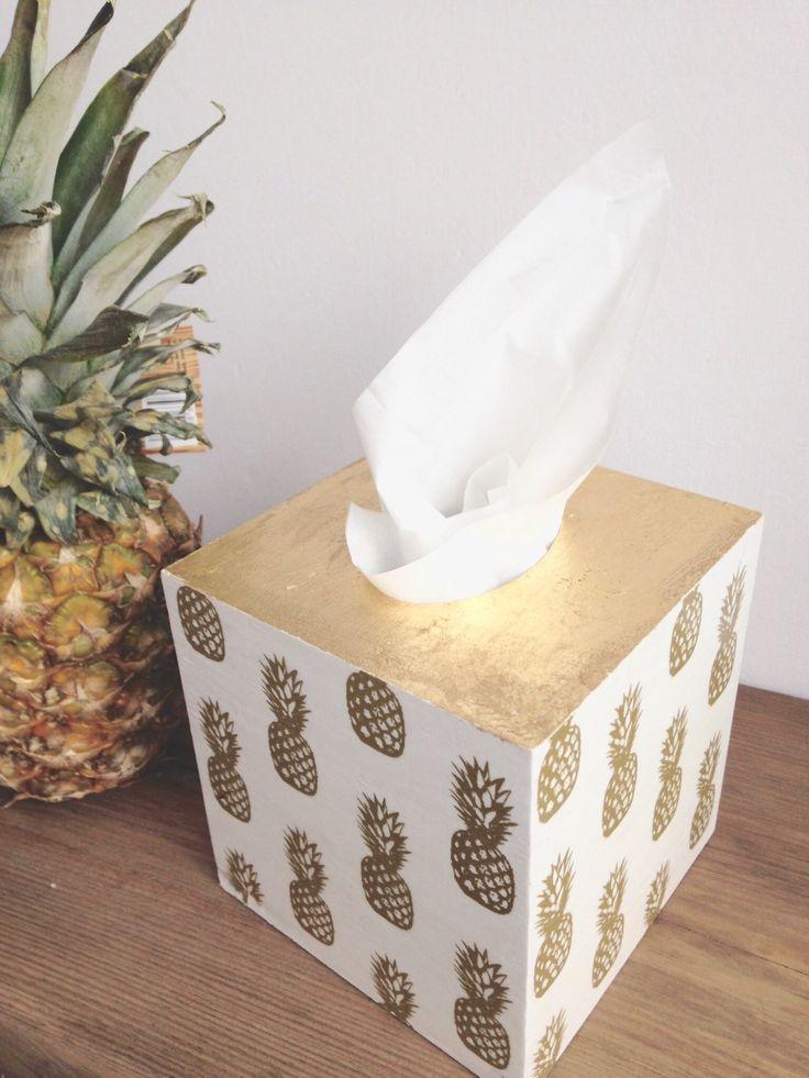 tissue box wooden tissue box handmade by HandmadeStylishHome
