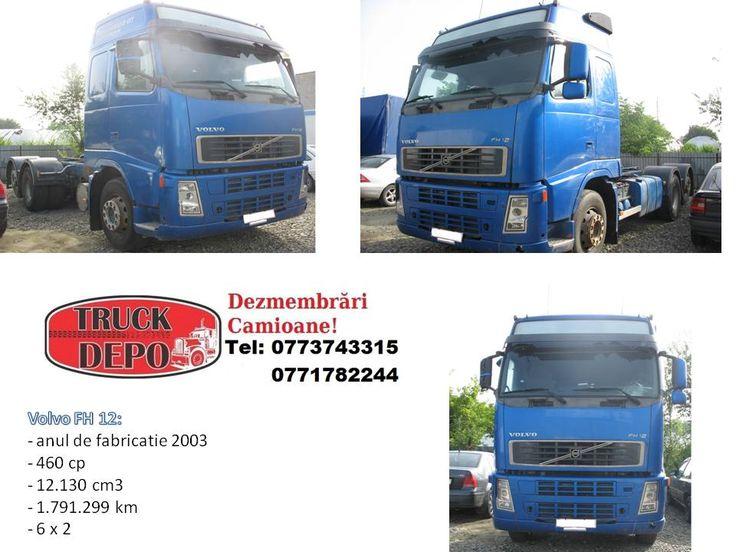 Nou la dezmembrat Volvo FH 12. Pentru mai multe detalii, contactati-ne: 0773 743 315, 0771 782 244, 0365 424 682, office@truckdepo.ro .