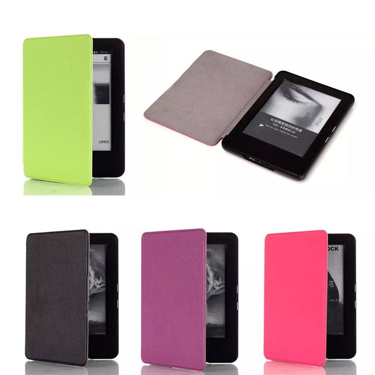 For 2014 New kindle 6   6 inch PU Leather Magnetic Case Ultra Slim Quality Cover