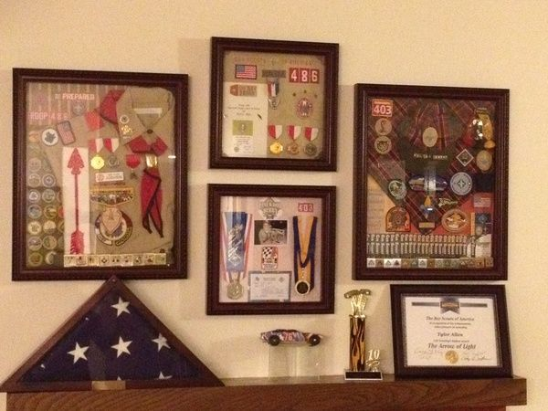 94 Best Eagle Scout Shadow Box Images On Pinterest Boy