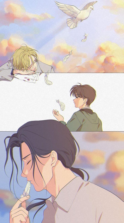 You Always Mine Ash X Eiji Banana Art Fish Art Aesthetic Anime