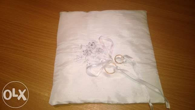 Poduszki ślubne z haftem Mikołów - image 1