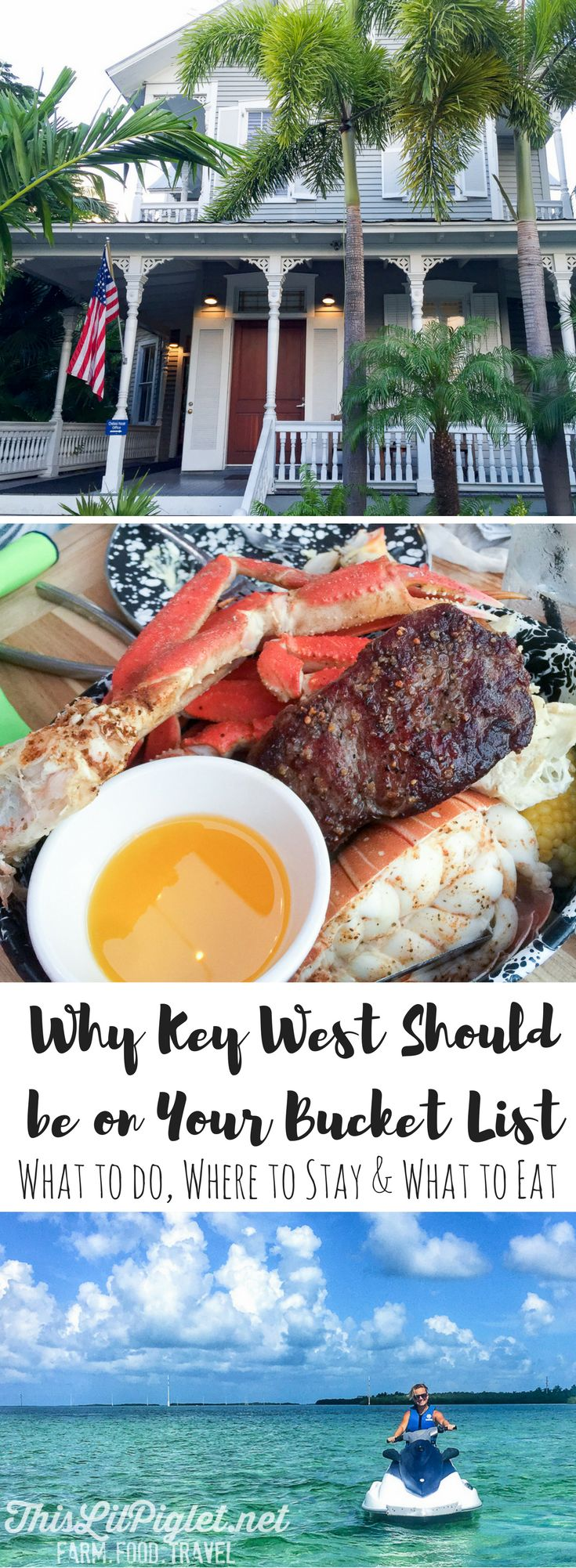 Bucket List Travel: Where to Stay, What to do and What to Eat in Key West Florida // via @thislilpiglet