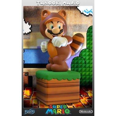 ESTATUA SUPER MARIO TANOOKI MARIO EDICION LIMITADA 39 CM … Precio de Ocasión, Super Mario de Nintendo es conocido en todo el mundo como uno de los mas conocidos videojuegos. Desde sus humildes orígenes de 8 bits en la década de 1980 a los sus últimos desarrollos en las consolas modernas, Mario siempre está listo siempre para entrar en acción para salvar a la Princesa Melocotón y el Reino Champiñón del mal. Después de recoger una hoja Tanooki, Mario se pone el traje ...