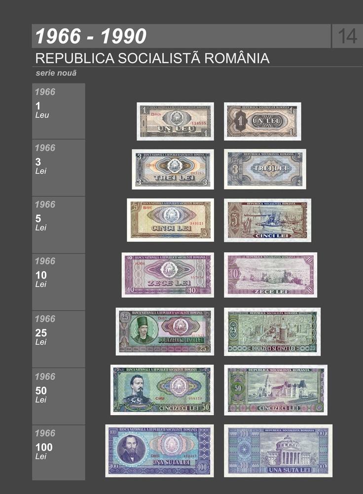 Romanian banknotes 1966-1990