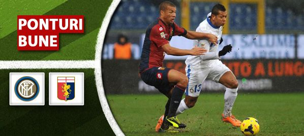 Internazionale Milano vs Genoa CFC - Serie A - analiza si pronostic - Ponturi Bune