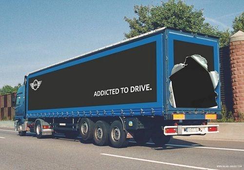 Funny advertising on Lorries/Trucks
