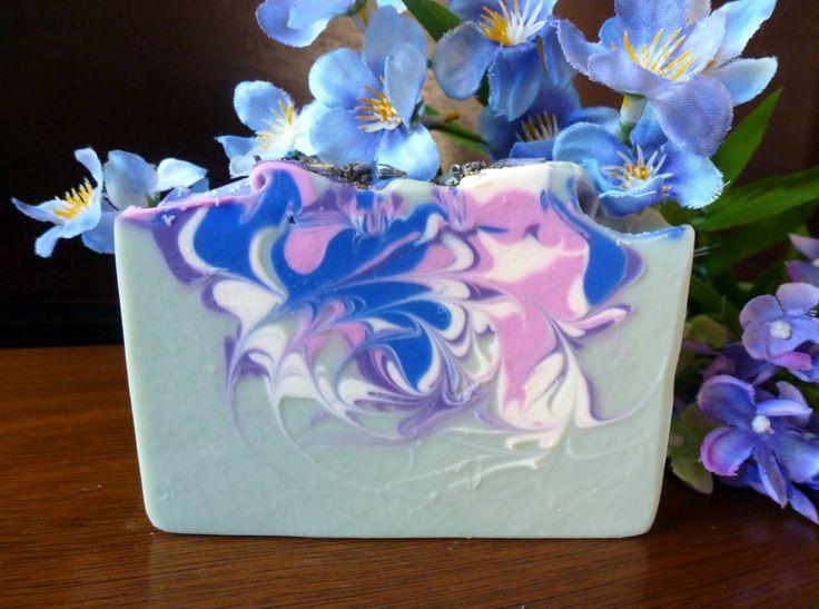 Making Lovely Lavender Soap 13.50
