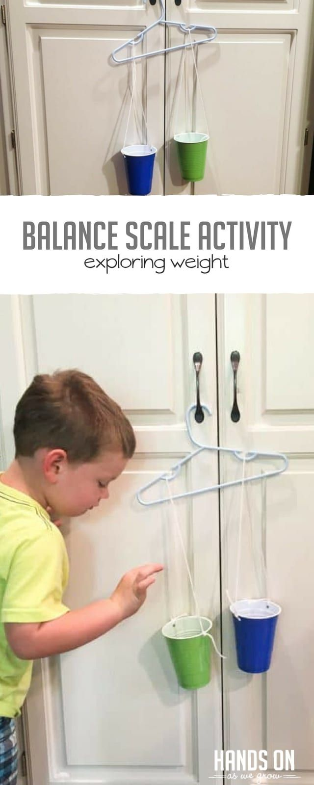 Build a Balance Scale for Preschoolers to Explore Weights ...