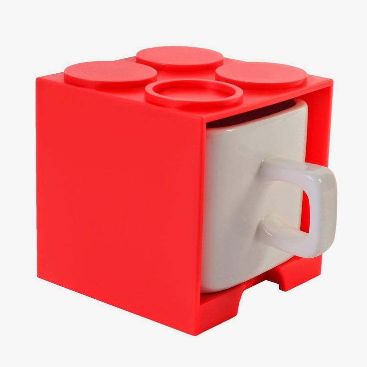 red mini cube cup for expresso