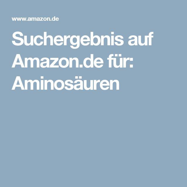Suchergebnis auf Amazon.de für: Aminosäuren