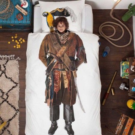 Pirate Duvet With Pillow Case - Bed Linen - Bedroom - Kitchen, Bed & Bath