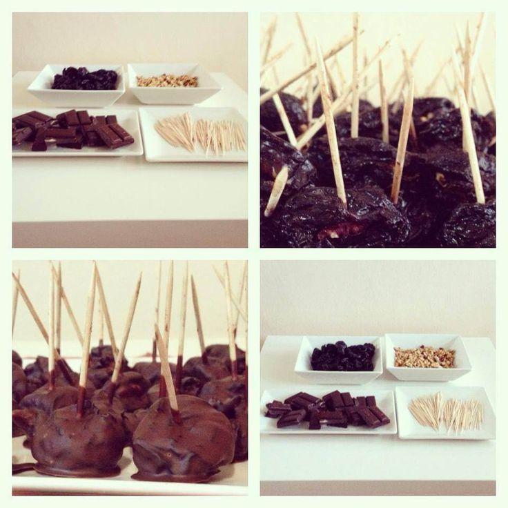 Švestky v čokoládě - Fitness Recepty