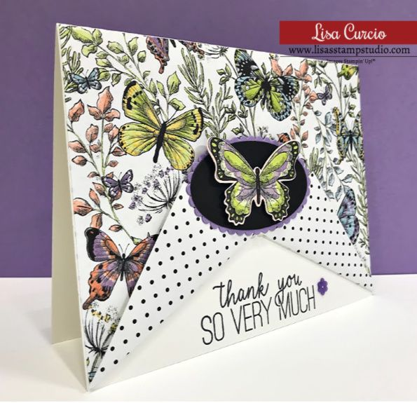 Make This Dynamic Fun Fold Card Easily Fun Fold Cards Fancy