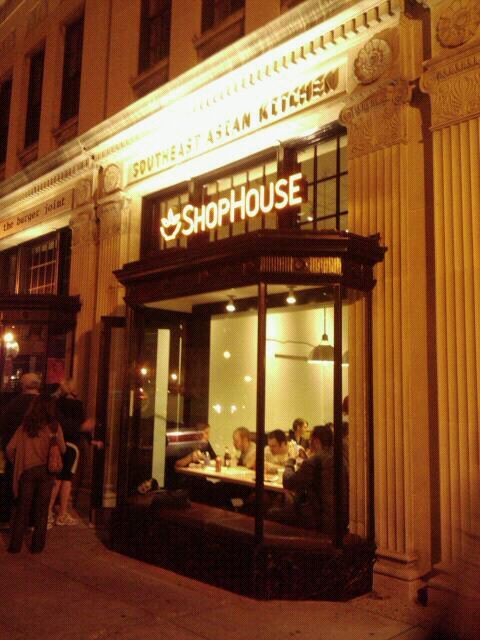 Shophouse a.k.a. the Asian version of Chipotle