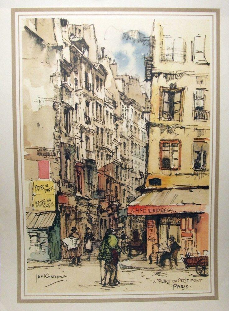 u0026 39 jan korthals u0026 39  vintage original 1950 u0026 39 s print of big ben   london   u2022  41 16  with images