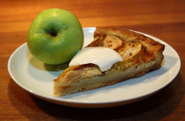 Efterår og æbletærte