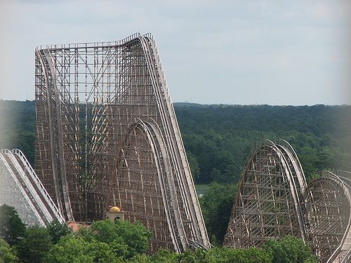 El Toro • Six Flags Great Adventure, NJ - done...really, seeing pics from these points of view is making me question my sanity a little bit for jumping right on rides like this