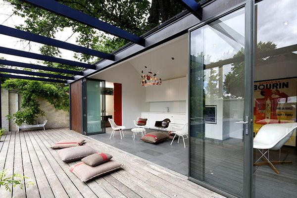 Pool House Design: Amazing Open House Setting in Melbourne ...