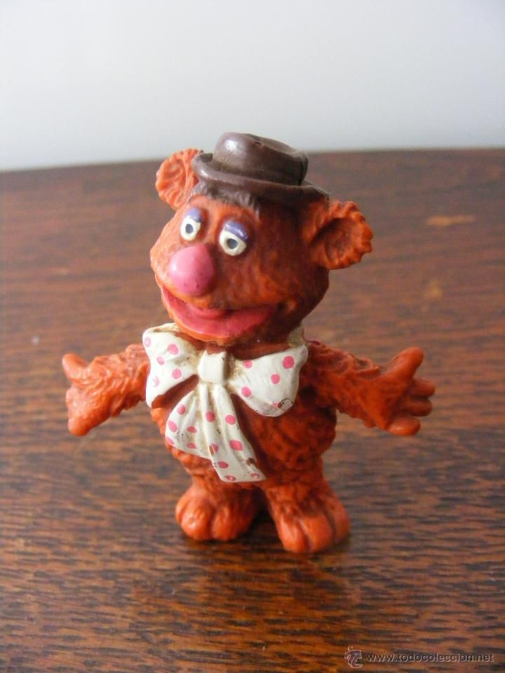 FIGURES PVC OSO FOSSIE MUPPET SHOW