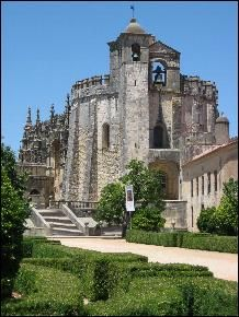 Tomar, Convento do Cristo. A 13th century Templar church. Must see again. Amazing place.