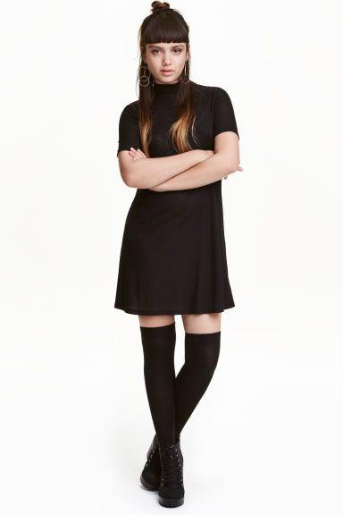 Turtleneck jersey dress | H&M