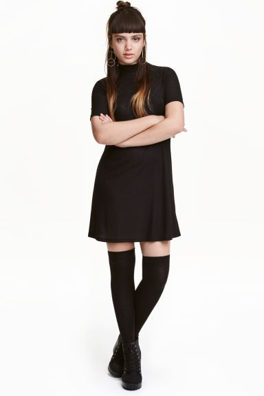 Turtleneck jersey dress | H&M