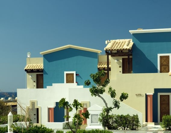 Family friendly Knossos Royal with a minoan-style architecture, stylish and comfortable