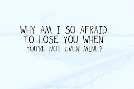 I just got rejected by someone i really loved. Its really painful. Especially when thought they were yours. :(