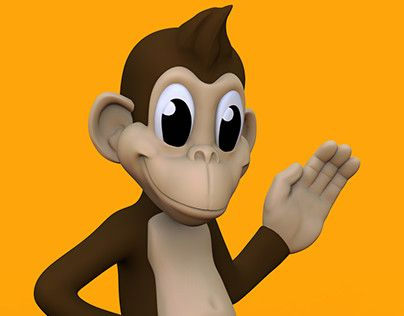 """Check out new work on my @Behance portfolio: """"3d Cartoon Monkey Concept for Sculpture"""" http://be.net/gallery/52385413/3d-Cartoon-Monkey-Concept-for-Sculpture"""
