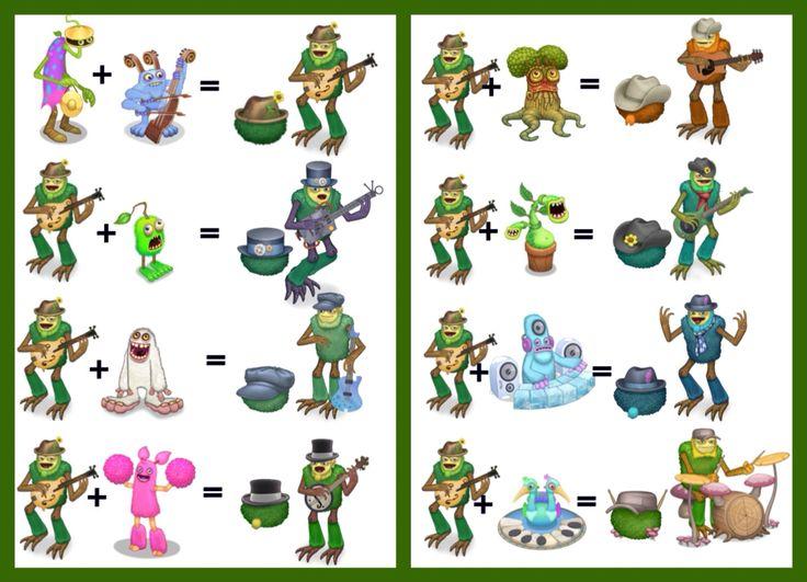 My singing monsters Shugabush breeding guide M y S i n g