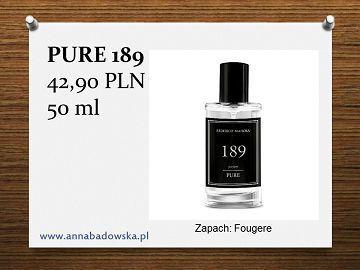 Perfumy PURE 189 męskie fougere