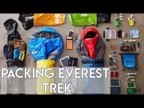 Everest base camp packing video   Ian Taylor Trekking - YouTube