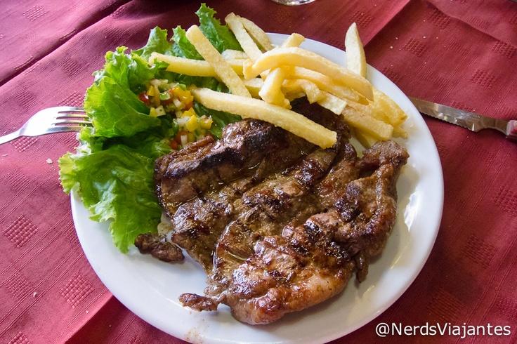 Bife de Chorizo - Restaurante La Lola - Bariloche - Argentina