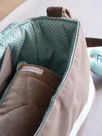 patron couture gratuit sac à langer 12