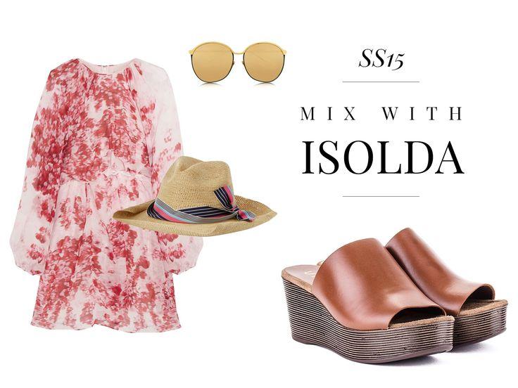 Unisa Look, mix with ISOLDA!
