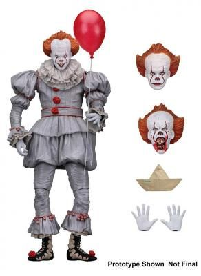 Figura Pennywise 18 cm. It (Eso) 2017. Stephen King. NECA Foto 1