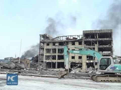 """Sodium cyanide """"possibly stored"""" in Tianjin blasted warehouse"""