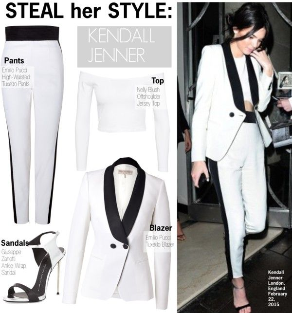 Steal Her Style Kendall Jenner By Kusja Liked On Polyvore Teamdressedjustright Love It