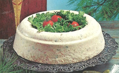 Dilled Salmon Mousse (The Holiday Cookbook, Southern Living, 1971)