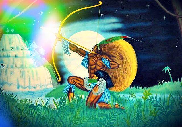 Sua natureza é da lua! Oxóssi ♥