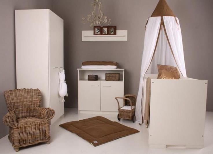 25 beste idee n over babykamer bruin op pinterest - Bruin taupe schilderij ...