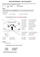 observer la formation du passe compose des verbes pronominaux et puis faire l'exercice - Fiches FLE