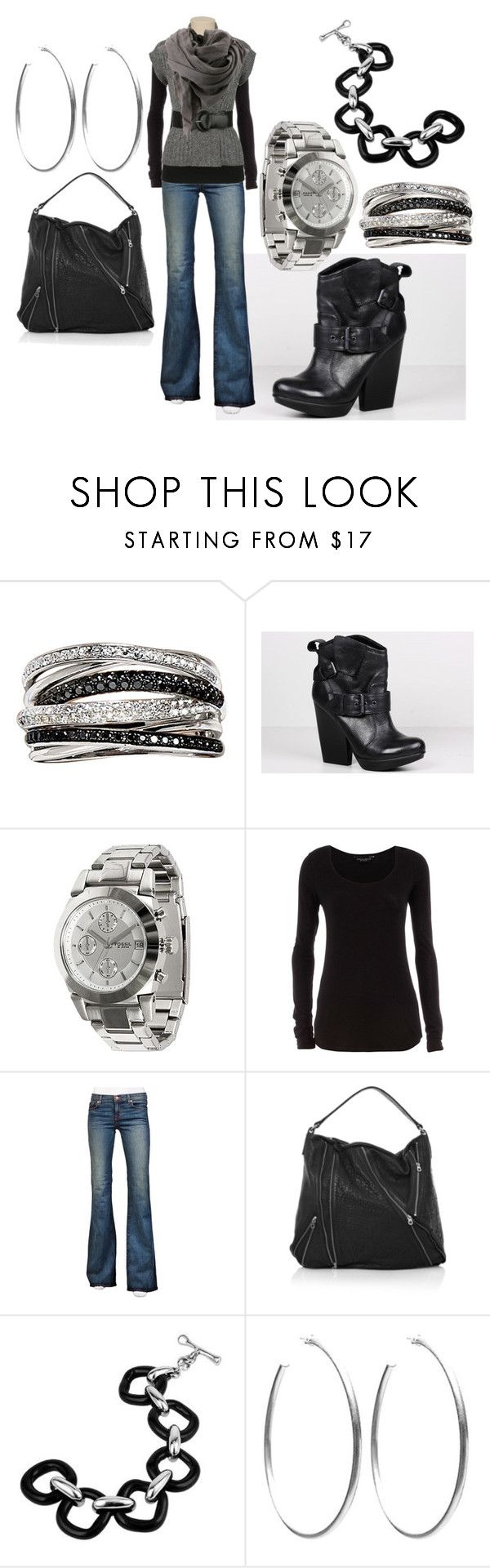 """""""Shopping Day"""" by jnifr ❤ liked on Polyvore featuring Effy Jewelry, Dolce Vita, FOSSIL, Dorothy Perkins, J Brand, maurices, Marc by Marc Jacobs, Bruuns Bazaar, Masini Gioielli and Sheila Fajl"""