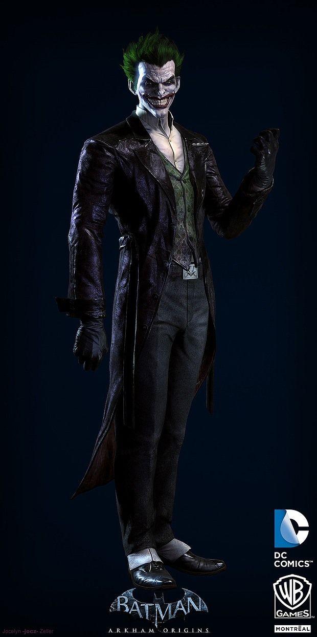 Arte digital de Batman Arkham Origins, por Jocelyn Zeller ...