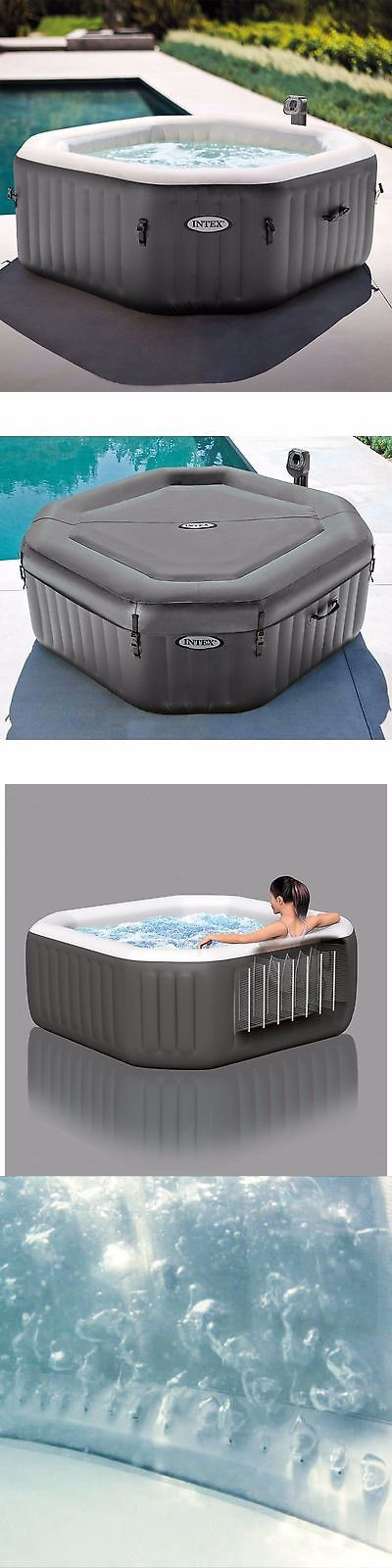 Spas and Hot Tubs 84211: Inflatable Hot Tub Spa Intex 4 Person Portable Jacuzzi Heated Bubble Massage -> BUY IT NOW ONLY: $461.99 on eBay!