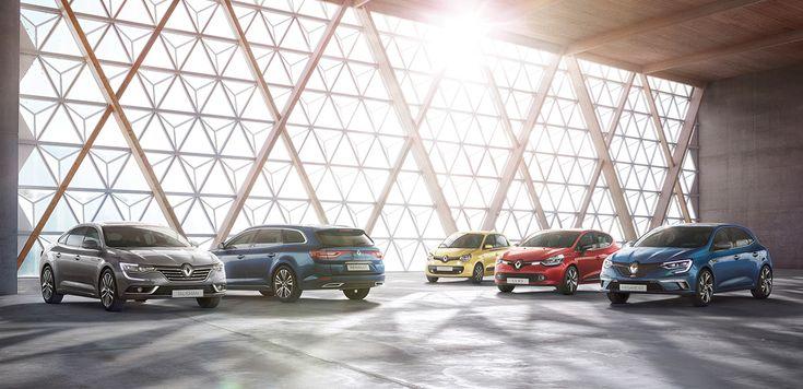 Renault Car Range - CGI on Behance
