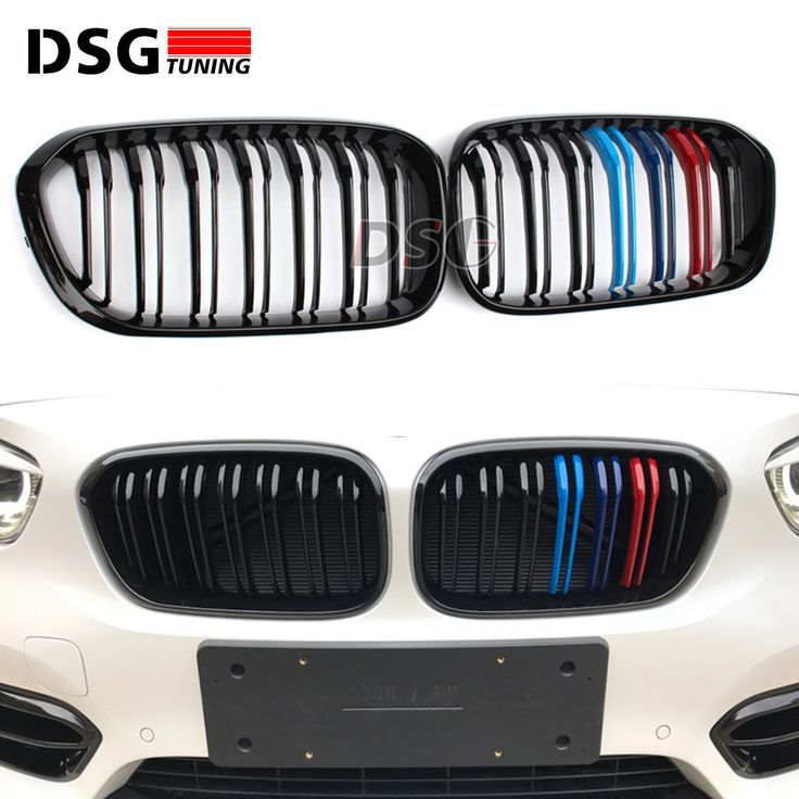 F21 F20 Lci Replacement Abs Kidney M Tri Color Racing Grille Car Styling For Bmw Abs Bmw Car Color F20 F21 Grille Kidne Tri Color Bmw 1 Series Bmw