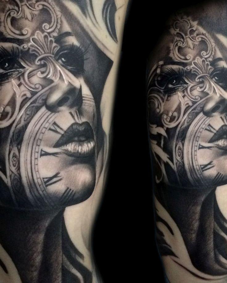 tony manciaus tattoos striking realistic and ink pieces with influences tatuajes spanish